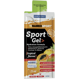 NAMEDSPORT Sport Energy Caja de Geles 15 x 25ml, Tropical